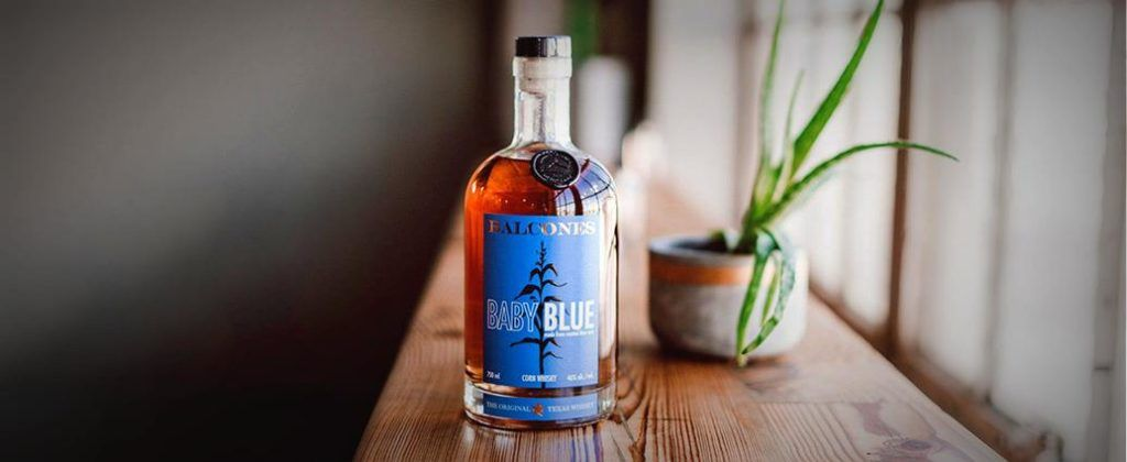 Bringing Home the Bourbon CALIBRE Balcones Baby Blue Corn Bourbon