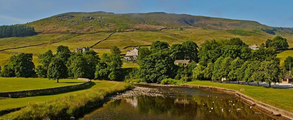 The Devonshire Fell Hotel is set in miles and miles of gorgeous Yorkshire Dales countryside.