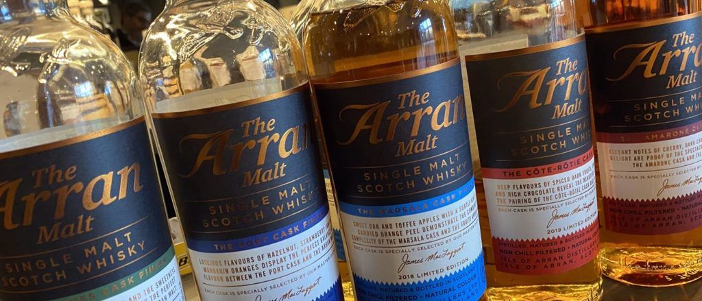 Arran Malt Whisky from the Arran Distillery