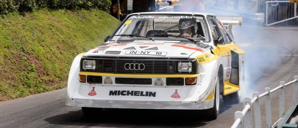 The Audi Quattro will be on display at the London Classic Car Show.