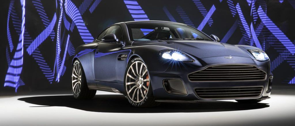 The Vanquish 25 by CALLUM is one of the highlights of the London Classic Car Show.