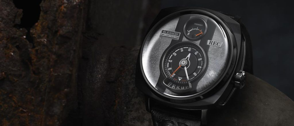 The P-51 Eleanor watch is features part of a classic Mustang.