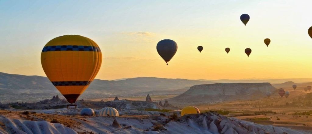 Cappadocia is a beautiful location within Turkey.