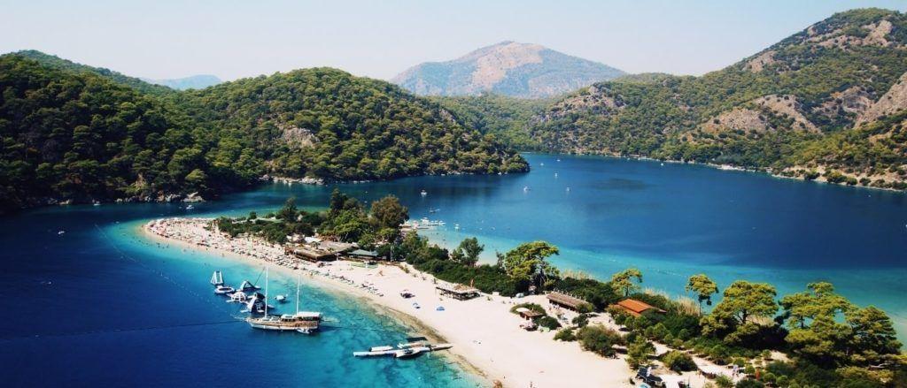 Oludeniz is a beautiful location in Turkey.
