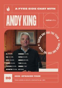Andy King will be talking about the Fyre Festival on his tour.