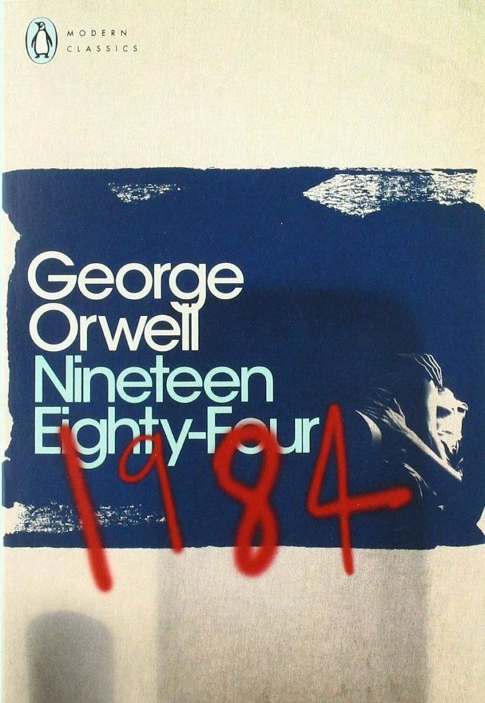 Amongst the best books for self isolation is 1984