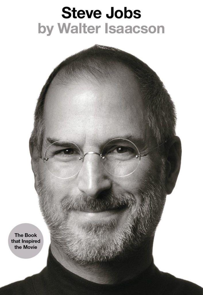 Amongst the best books for self isolation is Steve Jobs