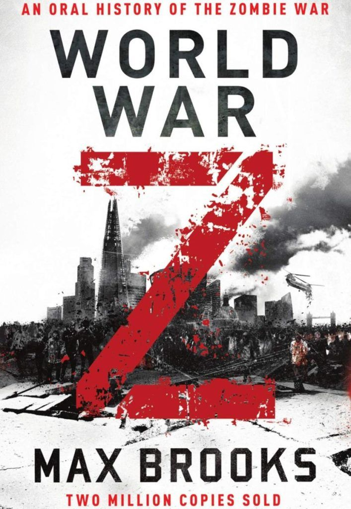 Amongst the best books for self isolation is World War Z