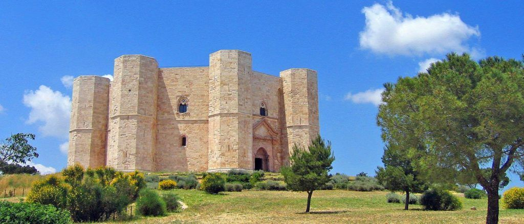 Castel del Monte is one of five beautiful castles detailed here.