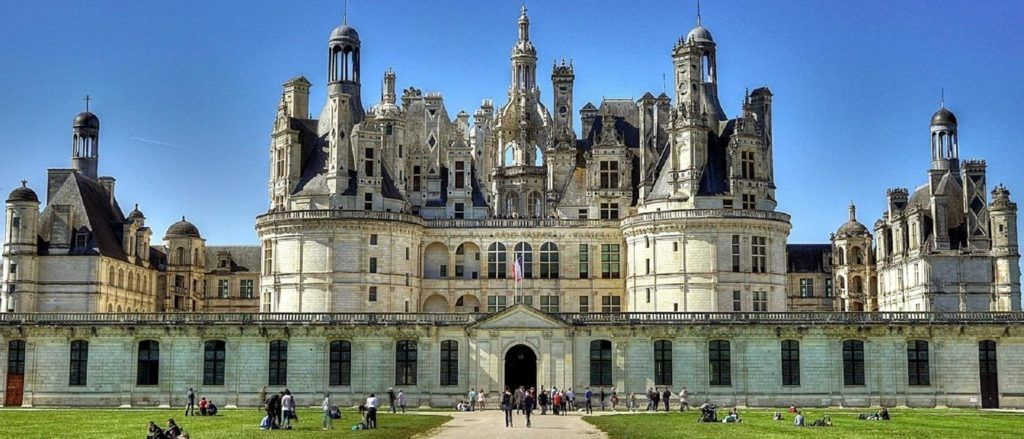 Chateau de Chambord is one of the five beautiful castles detailed here.