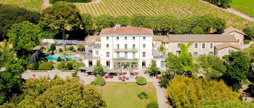 The Domaine de Verchant chateau sits in 17 hectares of grounds.