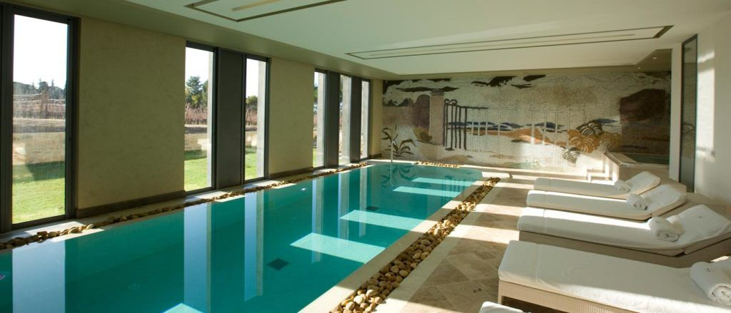 The refreshed spa at Domaine de Verchant is glorious.
