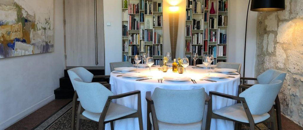 The Verchant restaurant at Domaine de Verchant offers an impressive wine selection.