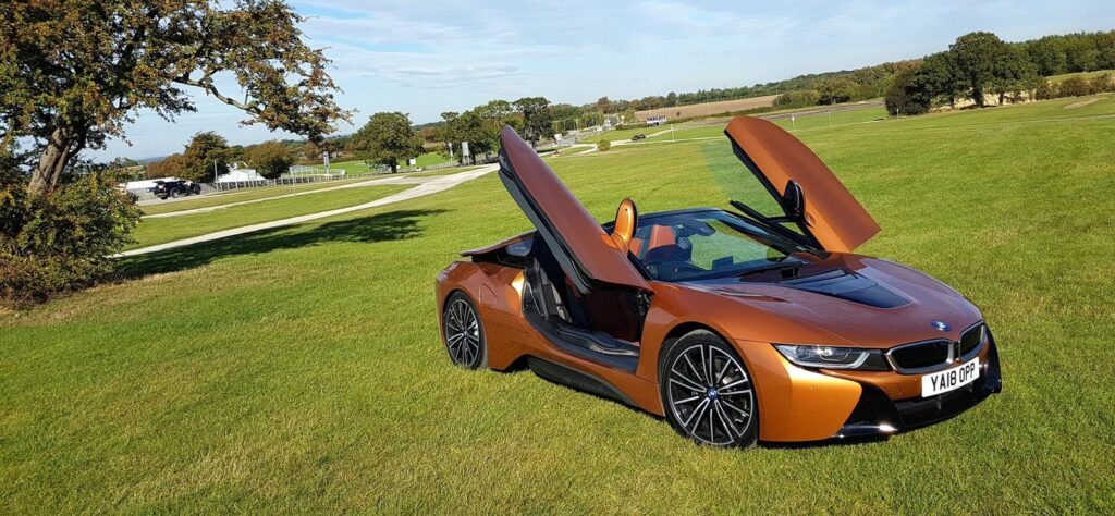BMW i8 Roadster in Wetherby