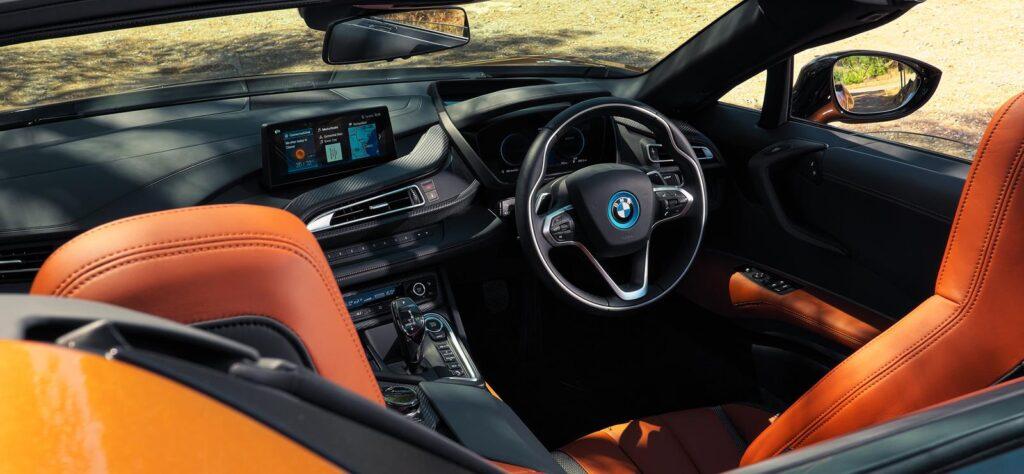BMW i8 Roadster interior