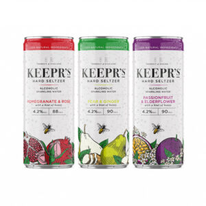 Keepr's Hard Seltzer range