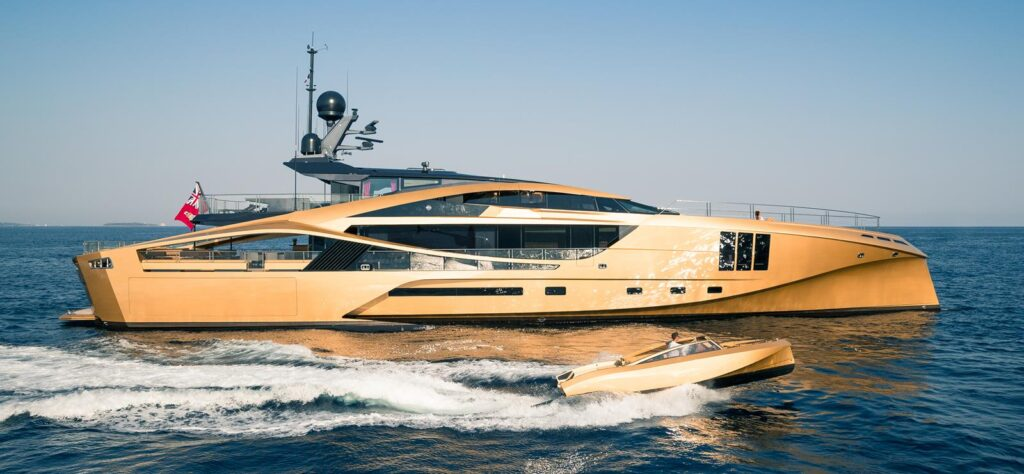 Khalilah is a luxury yacht you can charter from SuperYachtsMonaco