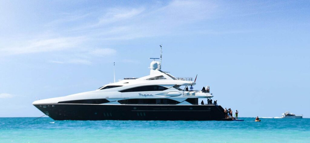 Vegas is a luxury yacht you can charter from SuperYachtsMonaco