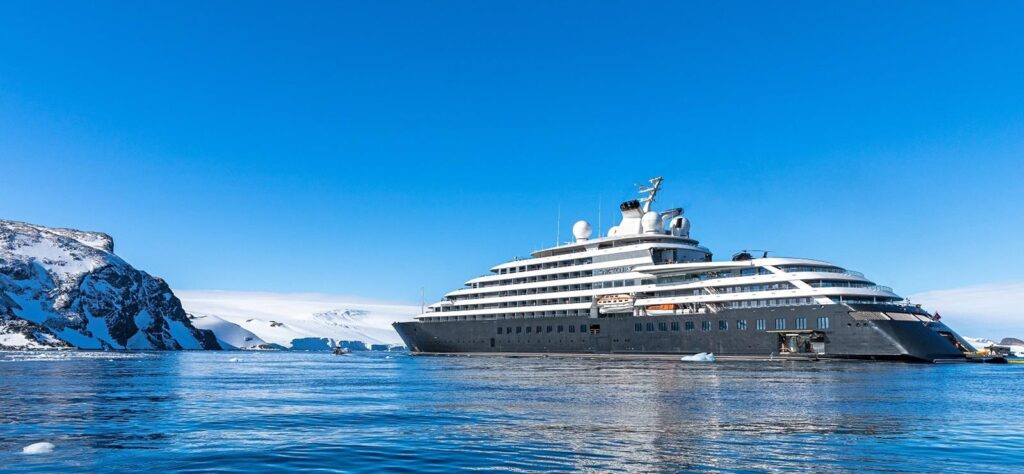 Scenic Eclipse luxury cruise ship by Roger Pimento