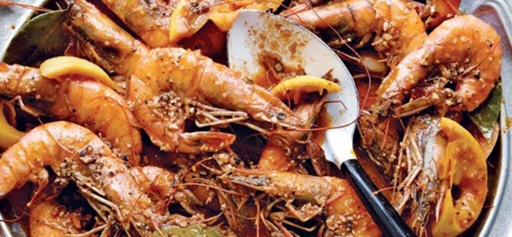 Scenic Eclipse recipes include Scandinavian Beer Prawns