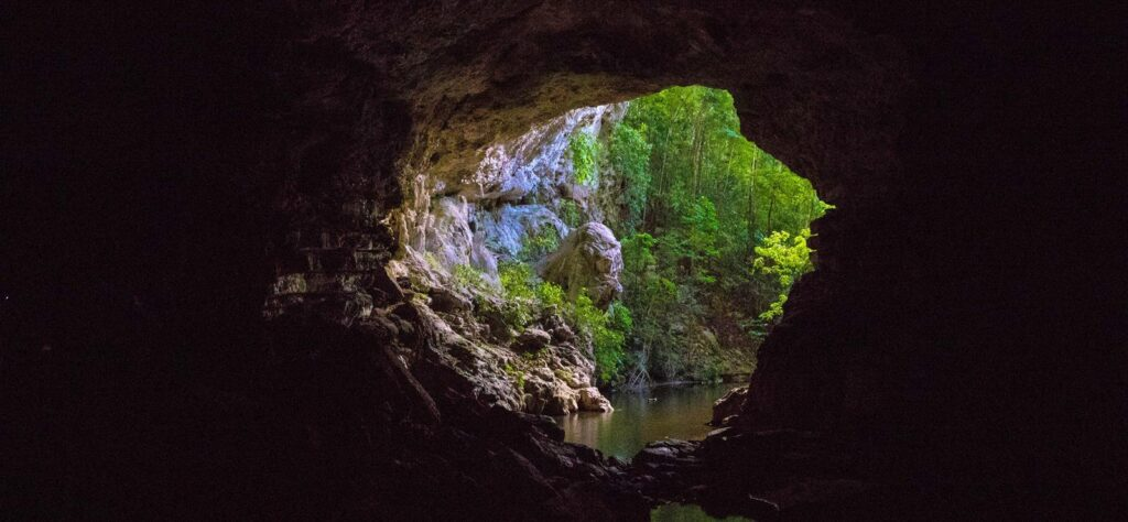 Belize activity holiday cave