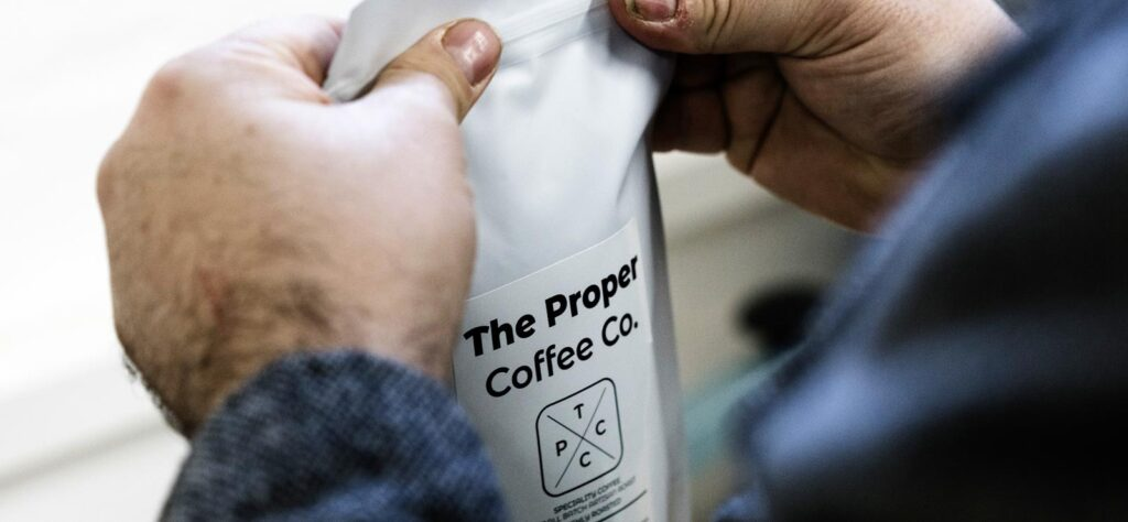 The Proper Coffee Co bag