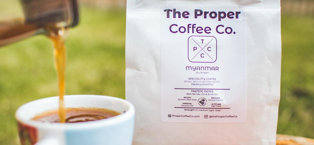 The Proper Coffee Co coffee