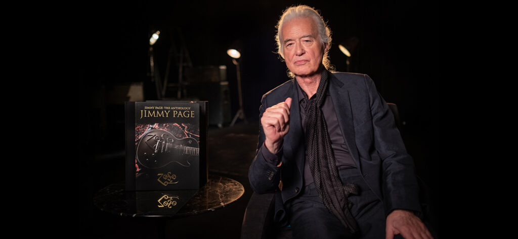 Jimmy Page Anthology christmas gifts