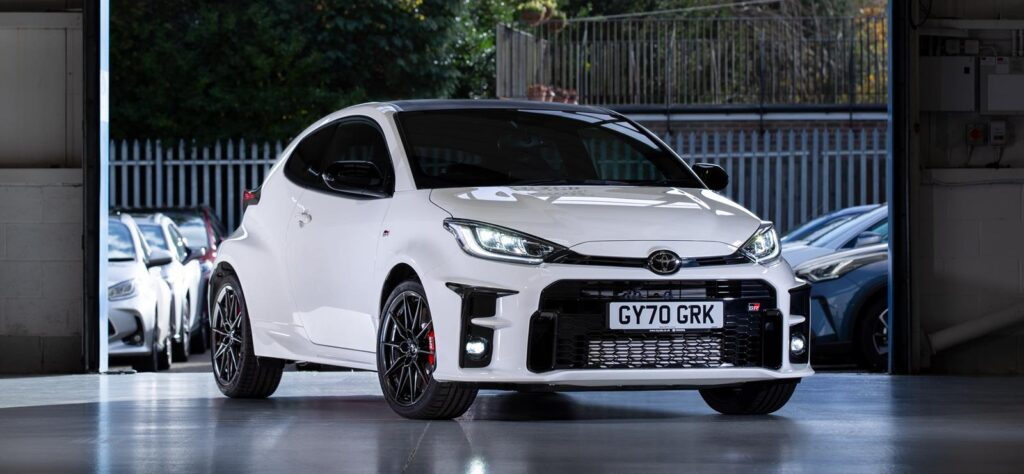 Toyota GR Yaris front
