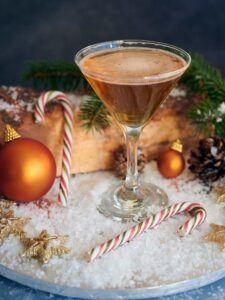 Brandy Cocktails - Christmas Stocking Spritz