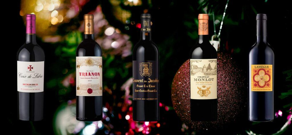 St-Emilion Red Wines for Christmas
