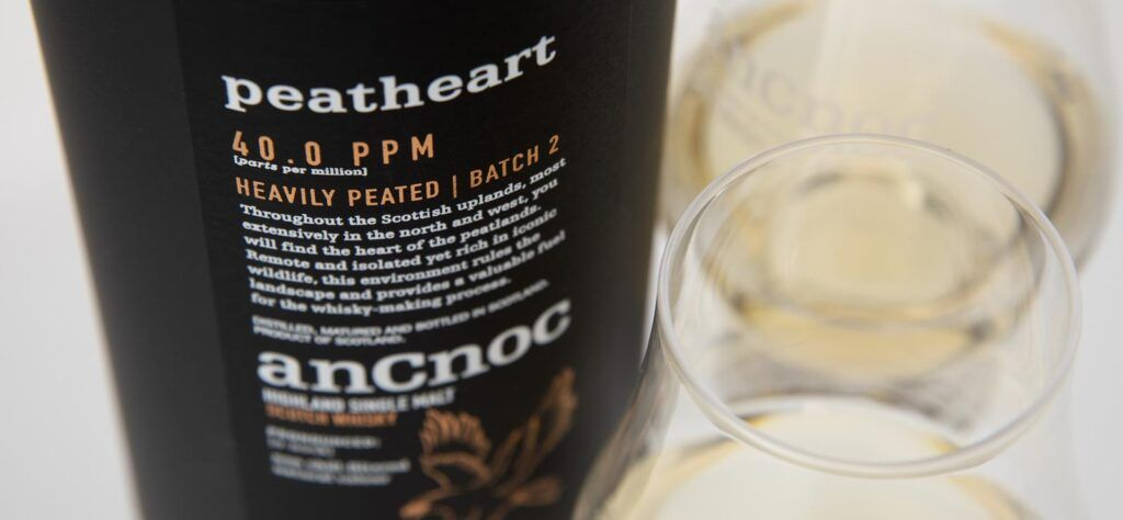 anCnoc Peatheart whisky for Burns Night 2021