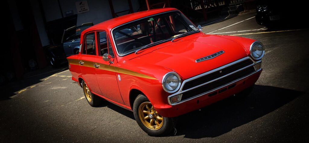The Ford Cortina is one of many appreciating classic cars