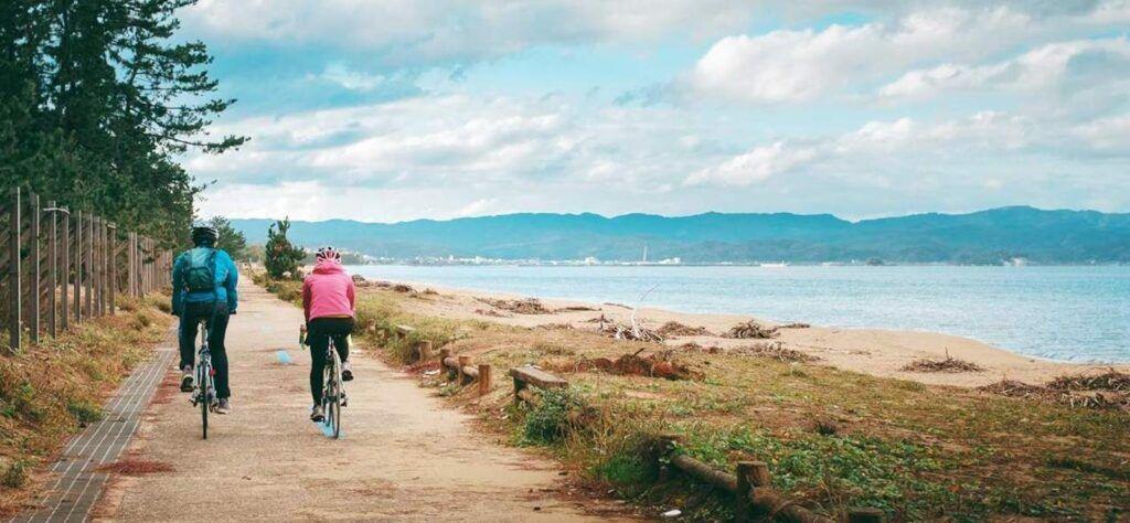 Cycling routes worldwide Kamiichi Town Japan