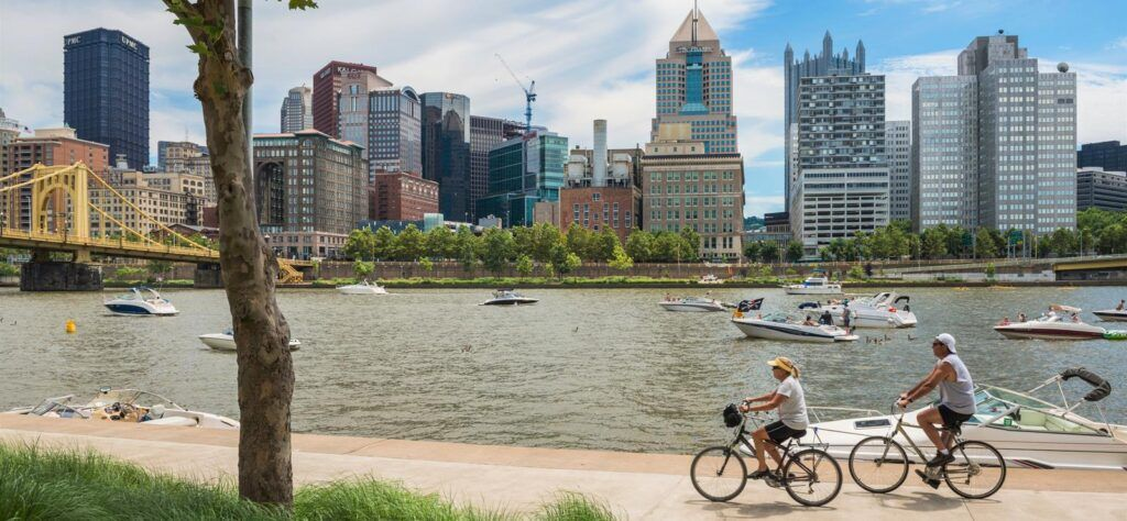 Cycling routes worldwide Pittsburgh USA