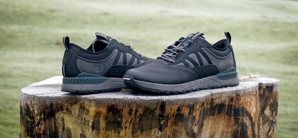 Michelin soled Etnies Sultan SCW in black from the winter collection