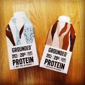 Grounded milk-free milkshake