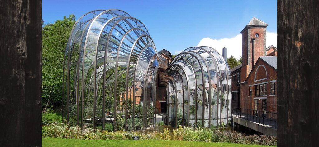 UK staycation microadventure at Bombay Sapphire distillery
