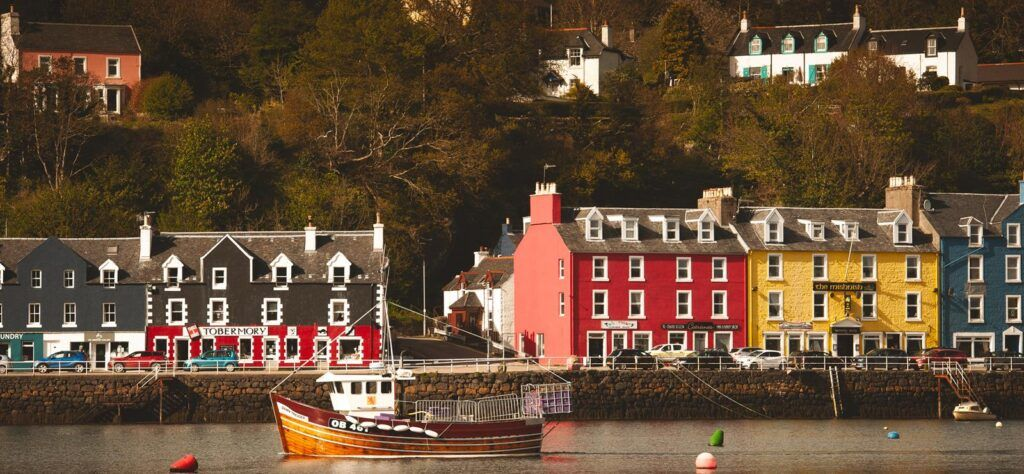 UK staycation microadventure in Tobermory