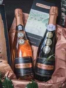 Valentine English sparkling wine from Ashling Park Estate