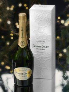 Valentine champagne from Perrier Jouet