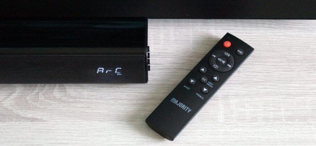 Majority K2 Soundbar remote control