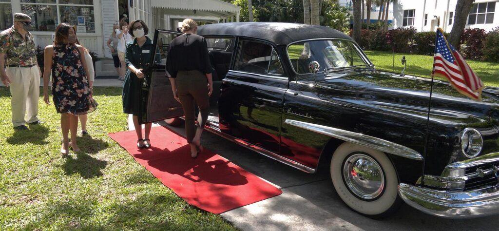 Little White House presidential limo tour