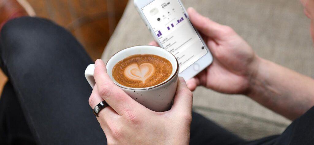 McLear RingPay coffee