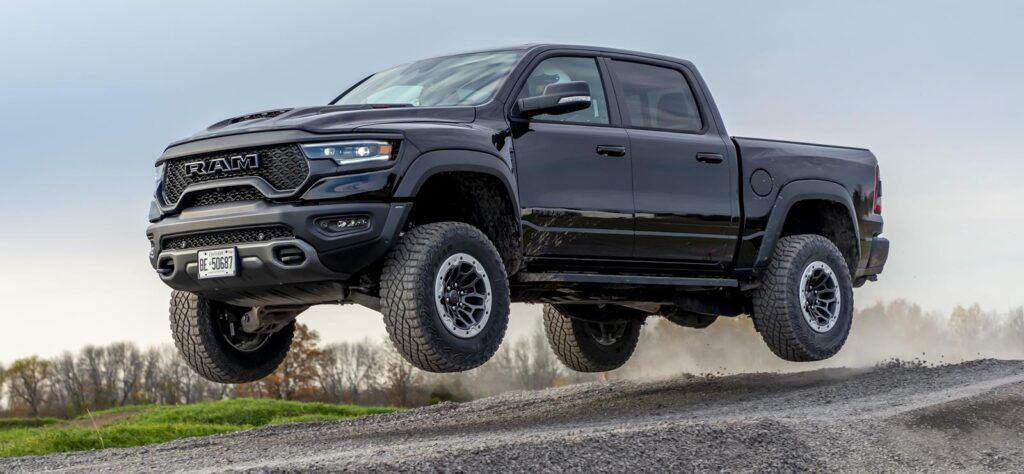The Hennessey Mammoth SUV is built around the Ram TRX pickup.