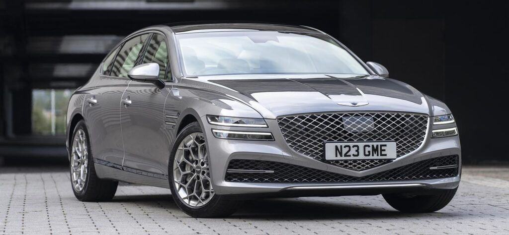 Genesis G80 car brand launch