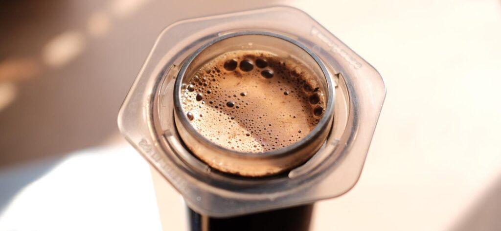 Norlo Coffee in Aeropress